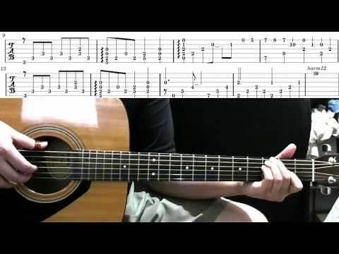 Naruto - Hokage's Funeral | Guitar Lesson Tutorial & Tabs