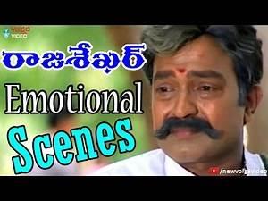 Rajashekar Emotional Scenes - Telugu Sentimental And Emotional Scenes - 2016