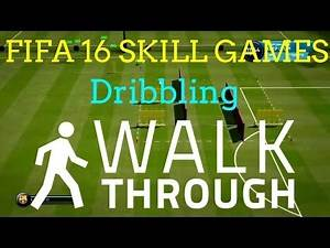 FIFA 16 SKILL GAMES!   Dribbling & Advanced Dribbling