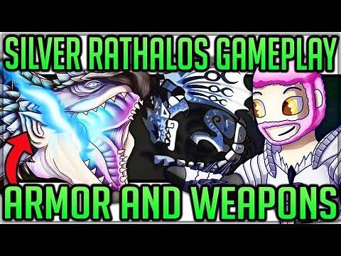 Silver Rathalos Breakdown/Secrets + Armor and Weapon Showcase - Monster Hunter World Iceborne! #mhw