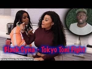 Black Chyna Tokyo Toni Fight, F&ck ASAP Rocky
