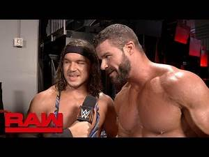 Chad Gable & Bobby Roode are captain material: Raw Exclusive, Nov. 12, 2018