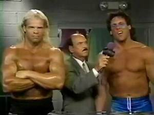 Sting and Lex Luger promo (08 03 1996 WCW Saturday Night)