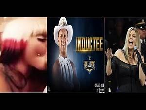 JeffJarrett WWE HOF, BlacChyna Sex Tape, Fergie Terrible Singing Feb 19 Biggest Lol Day of the Year