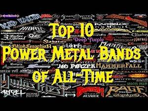 Top 10 POWER METAL Bands of All Time