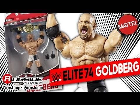 WWE FIGURE INSIDER: Goldberg- Mattel WWE Elite 74!