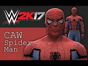 WWE 2K17 : Spider Man CAW Formula (PS3/XBOX 360)