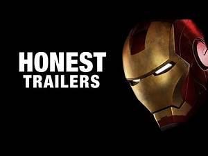 "'Iron Man' Honest Trailer: ""B-List Superhero"" Played by ""a Half-Forgotten Actor"