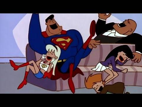 "Superman: The Animated Series ""Little Big Head Man"" Clip"
