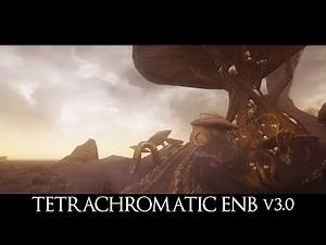 BEST FANTASY ENB EVER - Tetrachromatic ENB v3.0 - all versions comparison