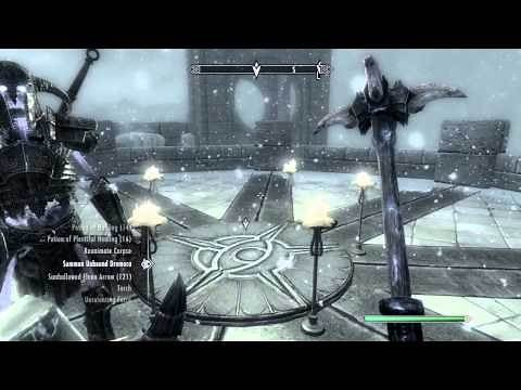 Skyrim - Misc. Quests - Conjuration Ritual Spell