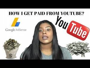 HOW I GET PAID FROM YOUTUBE!! HOW LONG DOES IT TAKE?