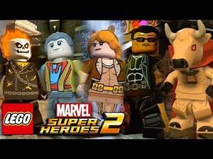 LEGO Marvel Superheroes 2 NEW CHARACTERS - Blade, Ghost Rider, Hellcow, Morbious, Hobgoblin, ETC