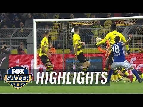 Borussia Dortmund vs. FC Schalke 04 | 2017-18 Bundesliga Highlights