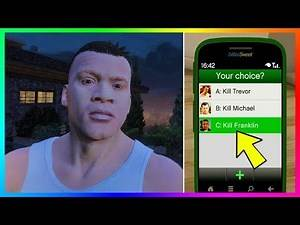 15 THINGS YOU DON'T KNOW ABOUT MICHAEL, TREVOR & FRANKLIN IN GTA 5!