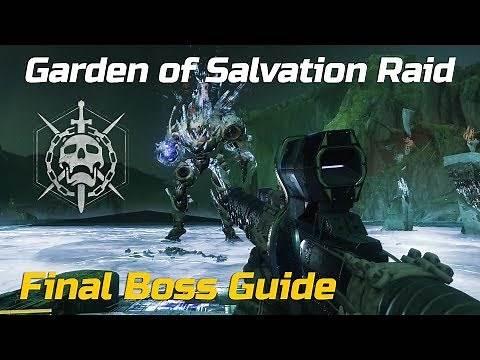 Garden of Salvation Raid Final Boss Guide (Easy) - Destiny 2 Shadowkeep