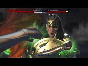 Injustice 2 Boss Starfire Vs Wonder Woman Heaven's Light God's Work Multiverse Event Planet