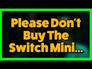 Please Don't Buy The Nintendo Switch Lite...