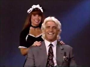 Ric Flair WCW Satellite Footage from 1993 vs Rick Rude