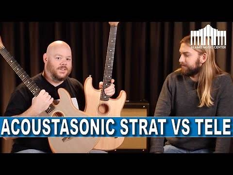 Fender Acoustasonic Stratocaster vs Acoustasonic Telecaster, the best comparison on the internet!
