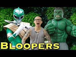 The Angry Green Ranger - feat. THE HULK [BLOOPERS]