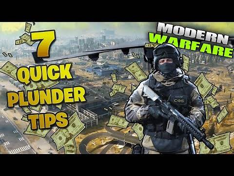 Call of Duty Modern Warfare Plunder - 7 QUICK tips for beginners - Cod mw WARZONE