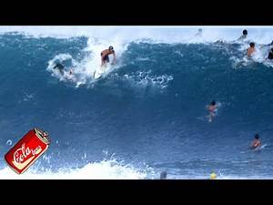 HEAVY SURFING at PIPELINE (Raw Footage) Dec. 7, 2020