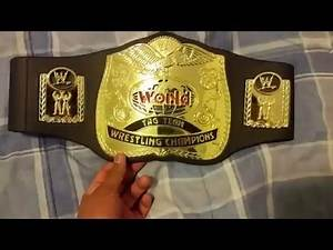 WWE/WWF/TNA Mattel Toy Belt Collection