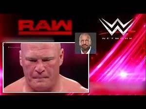 WWE Survior Series 15/3/2018 Brock Lesnar vs AJ Styles Full Match :)