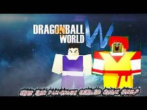 THE BEST DRAGON BALL Z FAN MADE GAME EVER!! - DragonBall World - Roblox