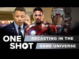 Recasted Movie Characters in the Same Universe