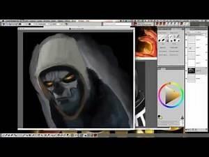 Painter Superhero & Villain Illustration with Mike Thompson