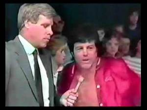 Jerry Lawler vs Bill Dundee loser leaves town promos 1985