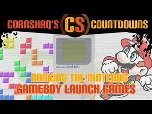 RANKING THE GAMEBOY LAUNCH GAMES