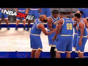 NBA 2K16 My Career [First 2 College Games][PS4 Gameplay]