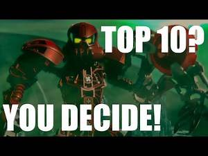The Next Top 10 BIONICLE Characters? THE FANS DECIDE!