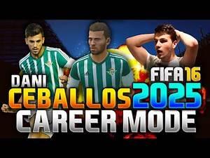 FIFA 16 | DANI CEBALLOS IN 2025!!! (CAREER MODE)