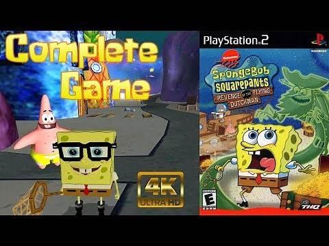 SpongeBob Revenge of the Flying Dutchman - Longplay (100%) [4K]