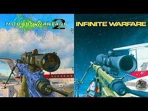 INFINITE WARFARE TF-141 vs MW2 INTERVENTION! - Side by Side Comparison of Intervention & TF-141