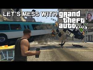 Let's Mess With: GTA 5 - Taking the Golf Cart for a Swim