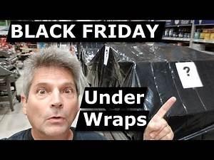 Lowes LiVE! Black Friday Deals On Floor Covered Black Wrap