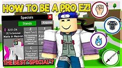 NOOB TO PRO! HOW TO BE PRO EASY? THE STRONGEST SPECIAL? IN ANIME FIGHTING SIMULATOR ROBLOX