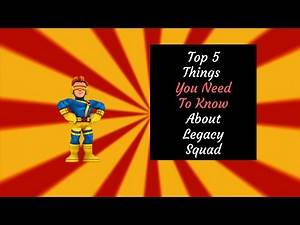 Top 5 Things You Need To Know About Legacy Squad! (Marvel Super Hero Squad Online Remake)