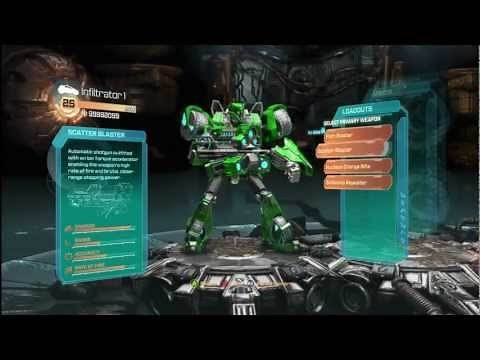 Transformers: Fall of Cybertron - Create Your Own Transformer