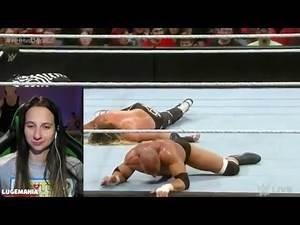 WWE Raw 3/14/16 HHH vs Dolph Ziggler