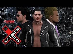 YWE Extreme Rules 2K17 Match Card