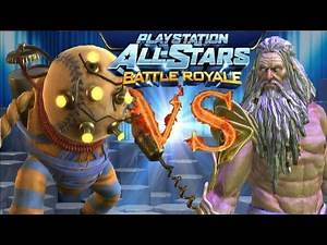Playstation All Stars Battle Royale: bluedeepdive vs djsponge12 (Round 2) (PS3)