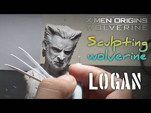 Sculpting timelapse | Logan | wolverine | X man | super sculpey clay