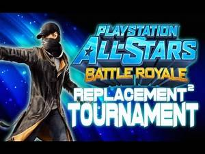 Playstation All-Stars Battle Royale: Replacement Tournament Showdown #2 - (1v1 Tournament)