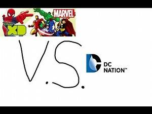 Marvel Universe vs DC Nation